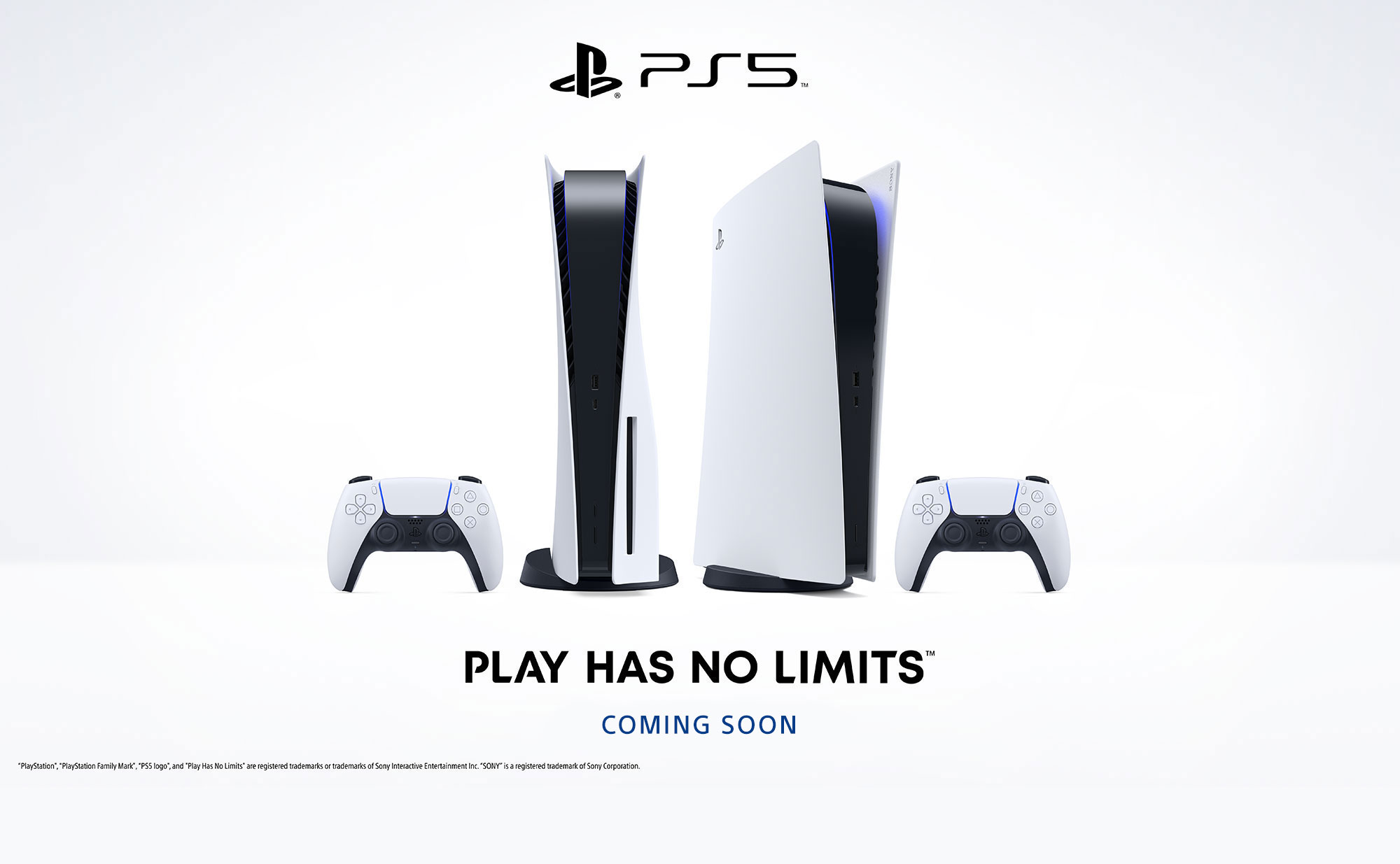 PS5 Coming Soon Banner